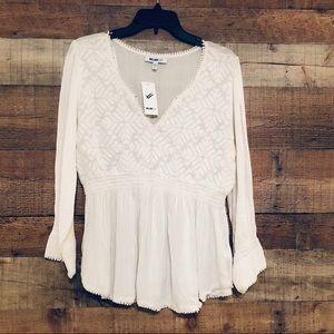 William Rast white blouse